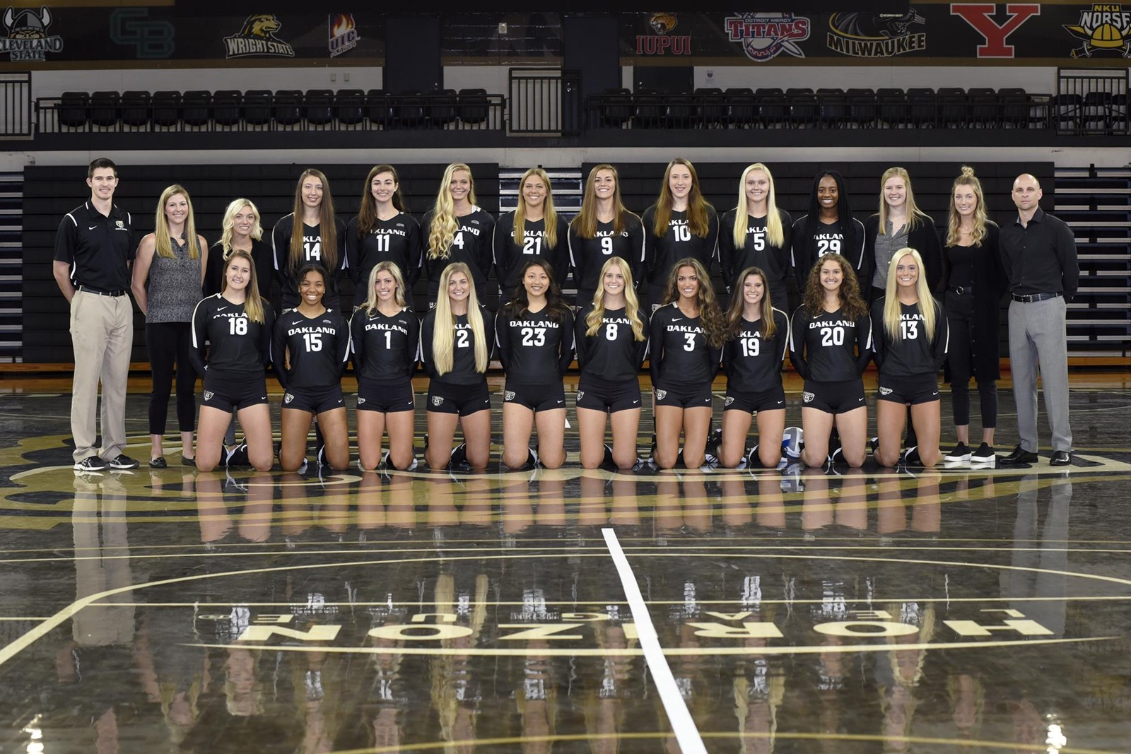 2019 Women S Volleyball Roster Oakland University Athletics